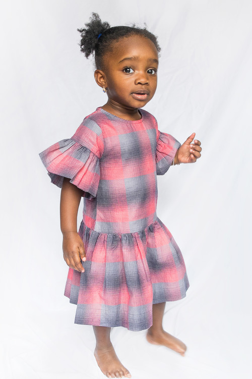 Toddler & Kids Plaid Irina Dress