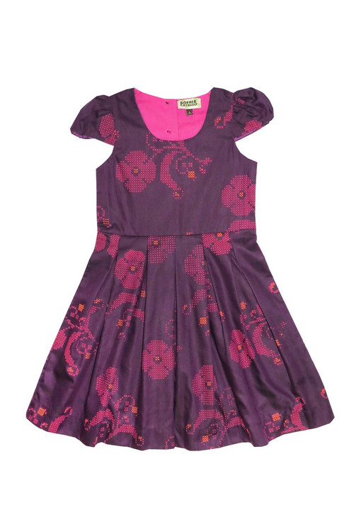 Toddler & Kids Cleo Pleated Dress