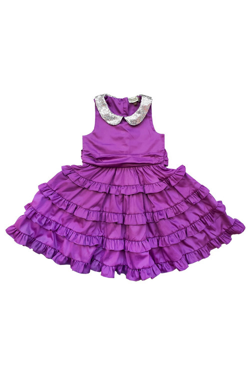 Toddler & Kids Purple Betsy Dress