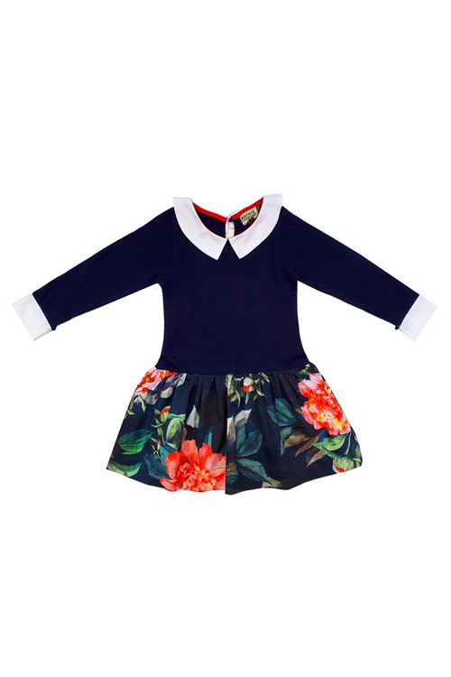 Toddler & Kids Savoy Drop-waist  Dress