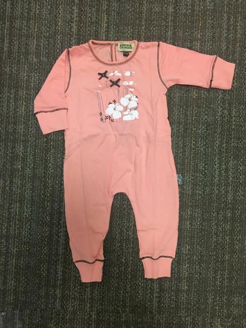 Sample Sale Pink Knit Romper