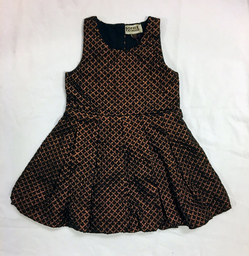 Sample Sale Metallic Black Lily Dress