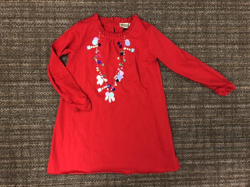 Sample Sale Carnation Sequin Necklace Dress