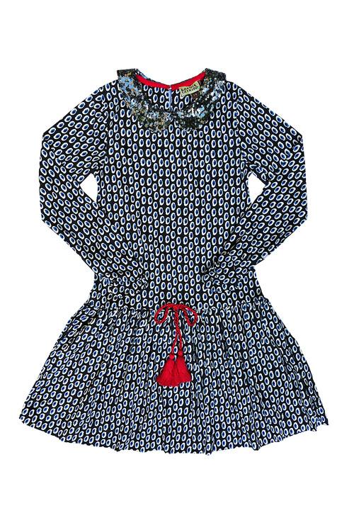 Sophie Catalou Girls Toddler & Kids Julie Printed Knit Dress 2-8y