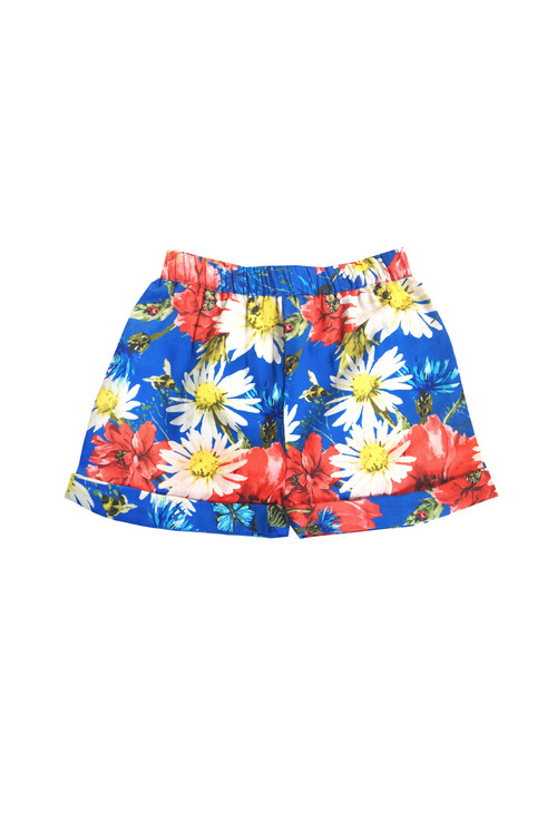 Sophie Catalou Girls Toddler & Kids Cornflower Blue Marseillaise Shorts 4-14y