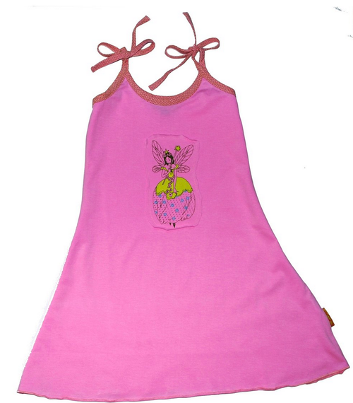 Sample Sale Bright Pink Graphic Dress