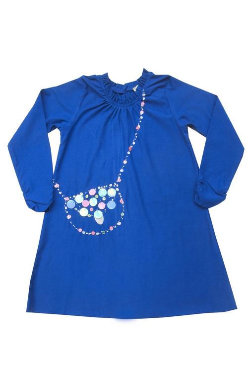 Royal Sequin Bag Dress