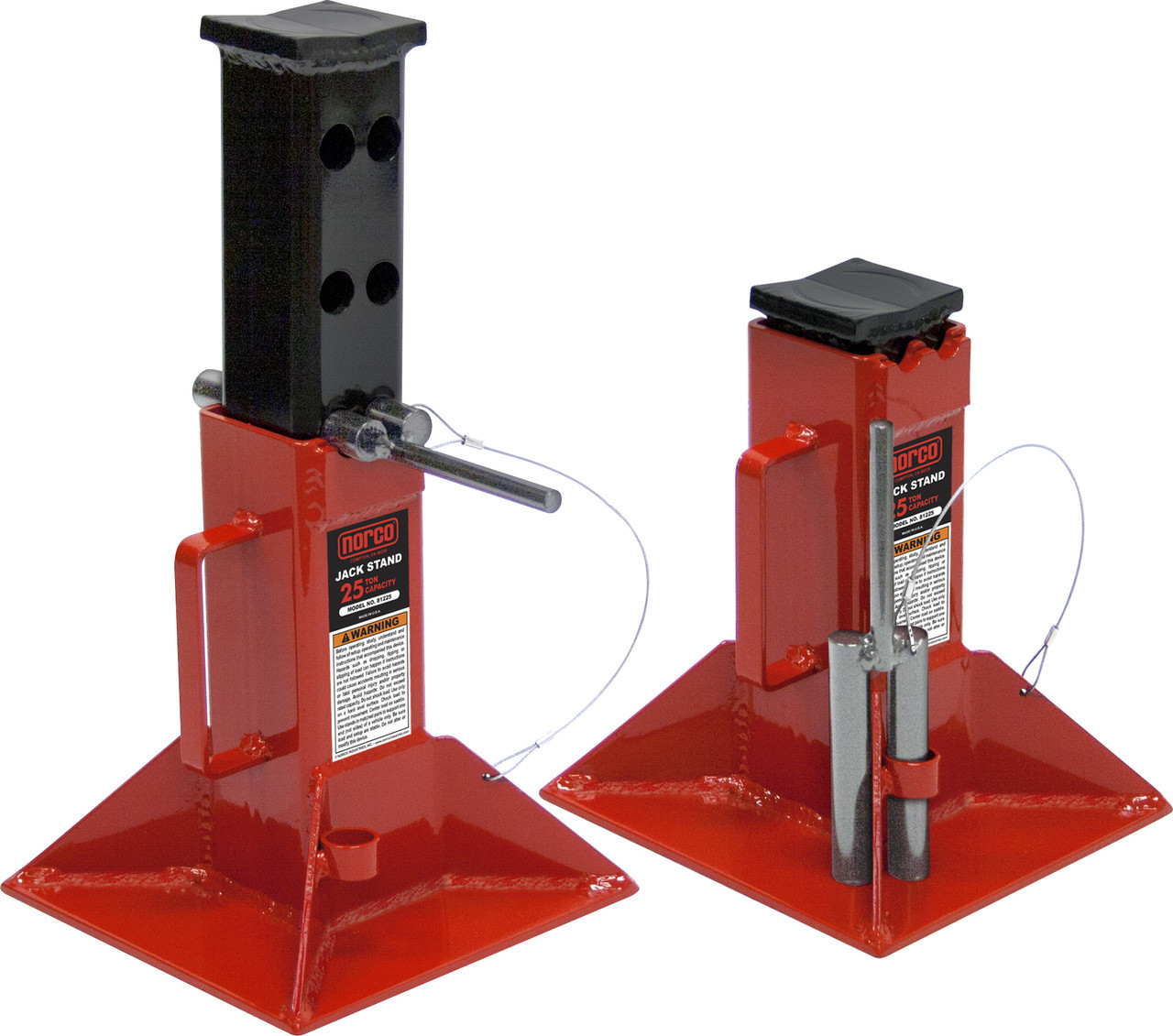 Buy Norco 81225 25 Ton Jack Stands Mile X Equip