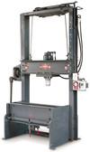 "Dake 42-500 25 Ton Elec-Draulic II Rolling Bed Hydraulic Press - 10"" Stroke"