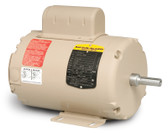 Baldor AFL3524A 3 HP 3450 RPM TEAO Single Phase Fan Motor