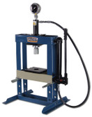 "Baileigh Industrial HSP-10H 10 Ton Hydraulic Shop Press 7"" Stroke"