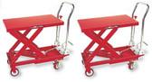AFF 3904 Hydraulic Table Cart