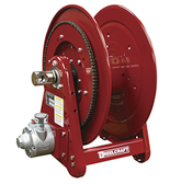 Reelcraft AA32106 L4A Heavy Duty 1-1/2 HP Air Motor Driven Hose Reel