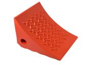 AME 15309 Urethane Wheel Chock, Orange