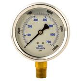 BVA Hydraulics GW4012 Liquid Gauge