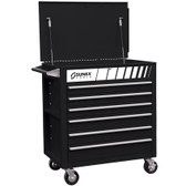 Sunex 8057BK Black Service Cart