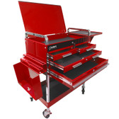 Sunex Red Deluxe Service Cart