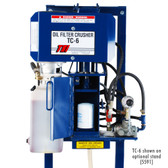 TSI TC-6 Oil Filter Crusher | Stand Sold Separately