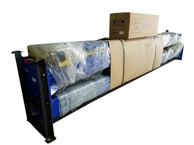 buy a tuxedo tp9kacx two post asymmetric lift mile x bendpak lift wiring diagram tuxedo 2 post lift shipping packaging