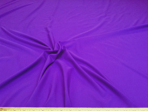 Discount Fabric Challis Apparel Top Weight Solid Purple Soft and Flowing CH10