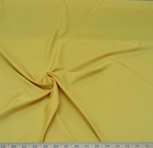 Discount Fabric Challis Apparel Top Weight Mustard Gold Soft and Flowing CH14