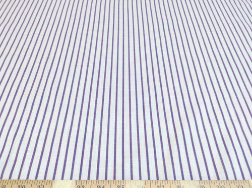 Discount Fabric Quilting Cotton Blue and Red Stripe CT001