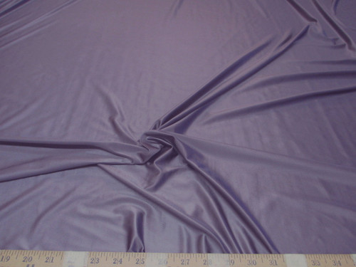 Discount Fabric Nylon Lycra Spandex 4 way stretch Solid Lavender Purple NLY11