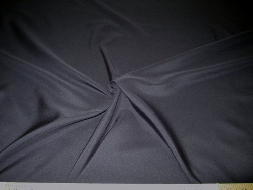 Discount Fabric Challis Apparel Top Weight Black Soft and Flowing CH15