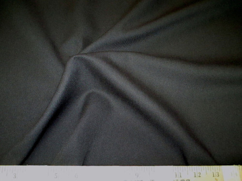 Discount Fabric 66 inches wide Fine Twill Black TW04