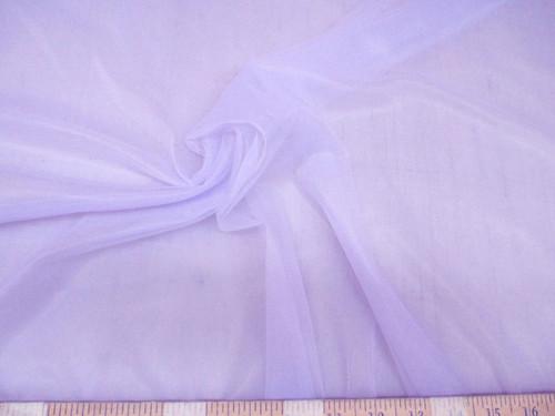"Discount Fabric 108"" Lavender PowerNet Mesh Spandex sheer PO305"