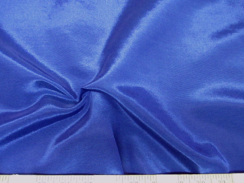 Discount Fabric BENGALINE Faille 52 inches wide Solid Blue Ben208