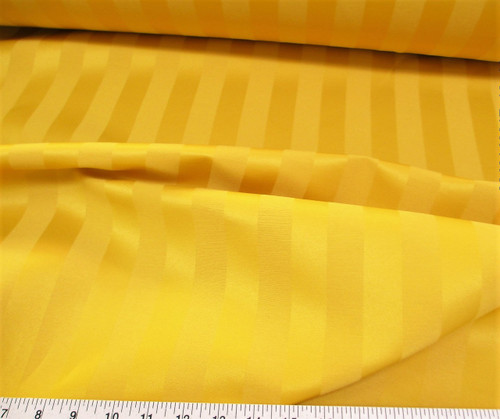 Discount Fabric Upholstery Drapery Brocade Satin Stripe Gold DR38