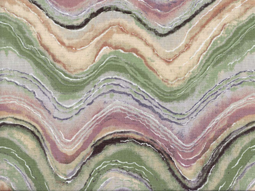 Discount Fabric Richloom Upholstery Drapery Florence Mineral Waves NN14