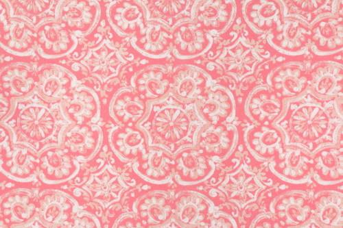Discount Fabric Richloom Solarium Indoor Outdoor Westphalia Coral Floral NN34