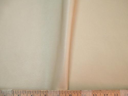 Discount Fabric Richloom Tough Faux Leather Pleather Vinyl Kiernan Cream OO40