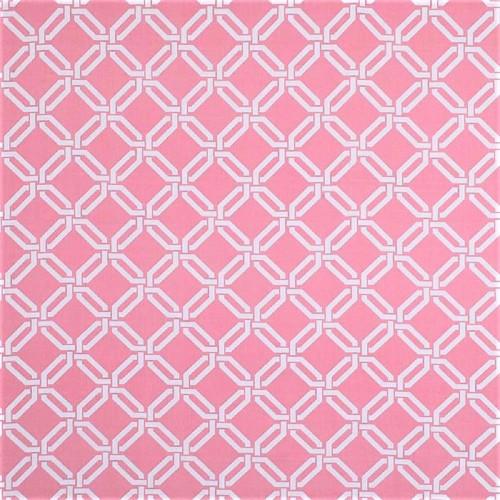Discount Fabric Robert Allen Upholstery Drapery Road Maze Carnation Pink EE14