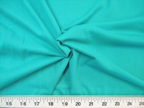"Discount Fabric 108"" wide Aerial Silks Acrobatic Dance Stretch Tricot Dark Mint TR03"