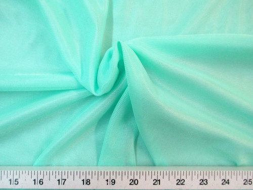 """Discount Fabric 108"""" wide Aerial Silks Acrobatic Dance Stretch Tricot Mint TR04"""