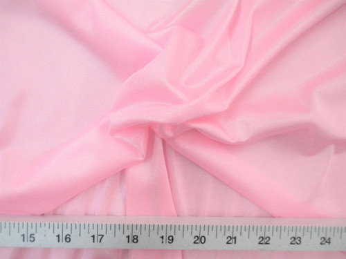 """Discount Fabric 108"""" wide Aerial Silks Acrobatic Dance Stretch Tricot Light Pink TR16"""