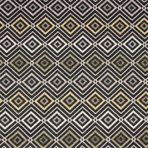 Fabric Richloom Upholstery Drapery Deposit Earth Diamond Jacquard Yarn Dye GG12
