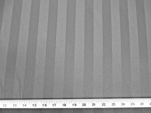 Discount Fabric Brocade Satin Stripe Light Charcoal DR04
