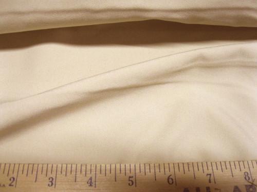 Discount Fabric Fine Twill Cotton Blend Khaki  64 inches wide Free ship USA CB10