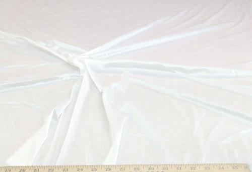 "Discount Fabric nylon Tricot stretch White 108"" wide Free ship"