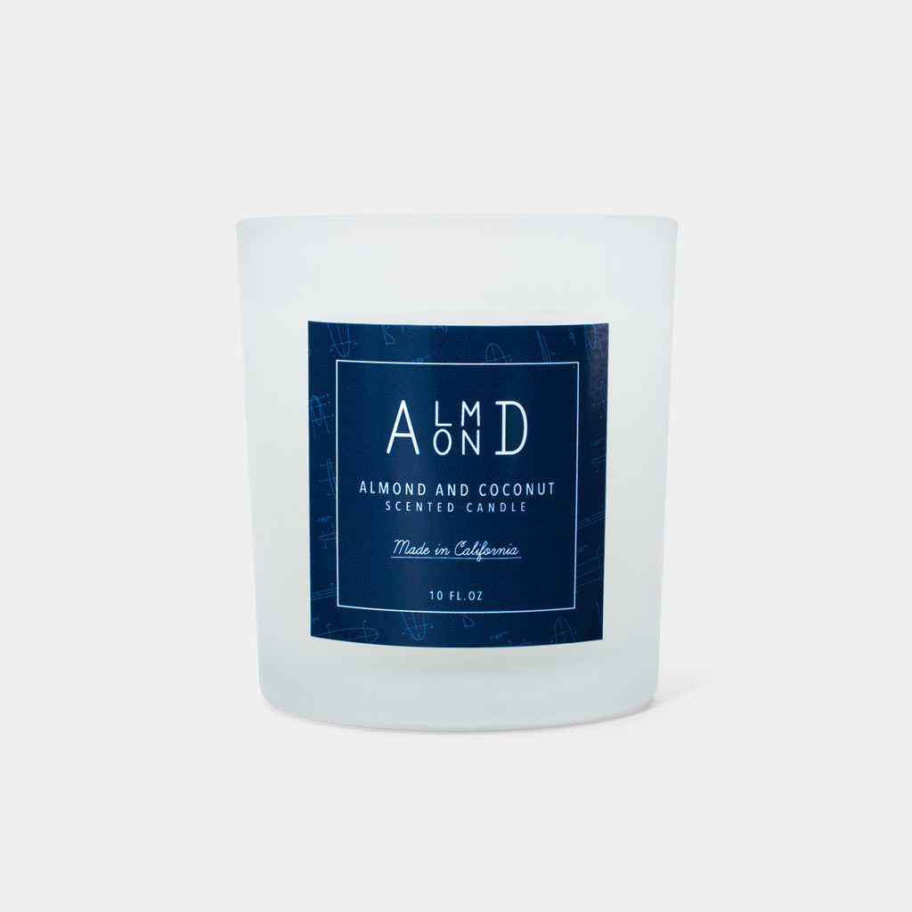 Almond Coconut Candle