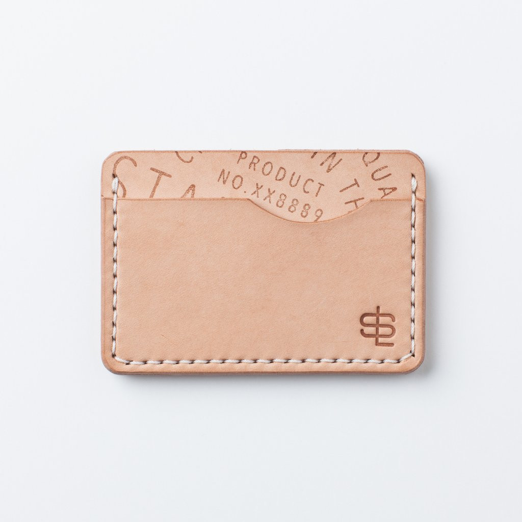 Slim Wallet - Natural