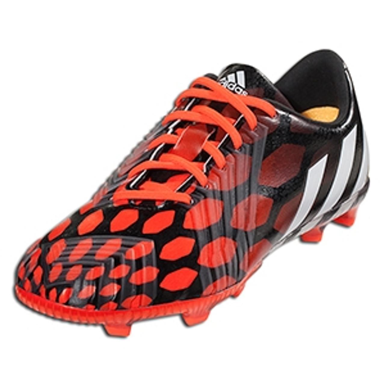 adidas JR Predator Instinct FG - Black Solar Red SD (21517) - ohp soccer 798d54e8a2b2