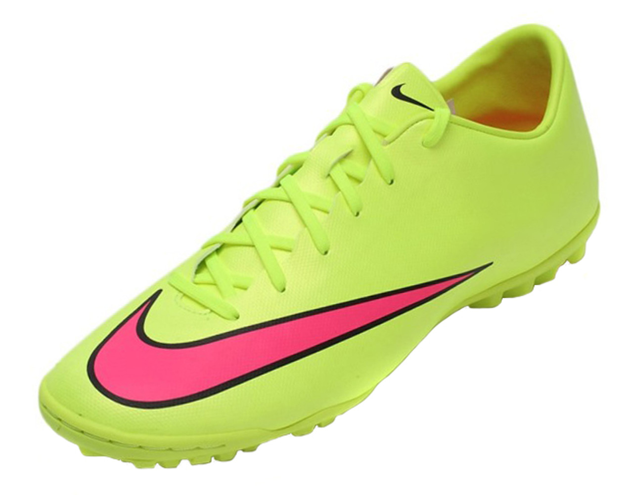 6dc1adbbe8ac Nike Mercurial Victory V TF - Volt Hyper Pink - ohp soccer