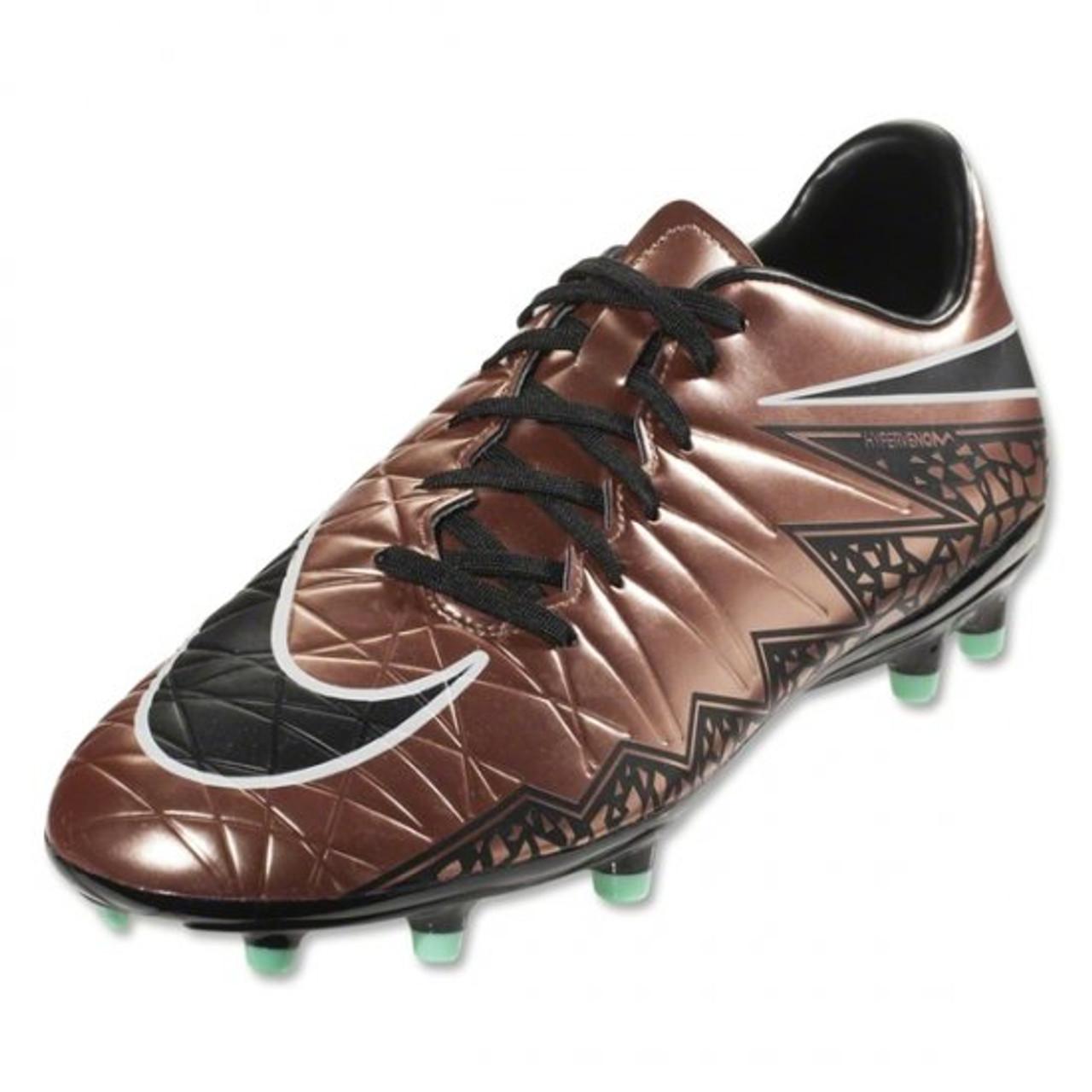 3b07c28906d7 Nike Hypervenom Phelon II FG - Metallic Red Brown/Green/Black/Glow ...