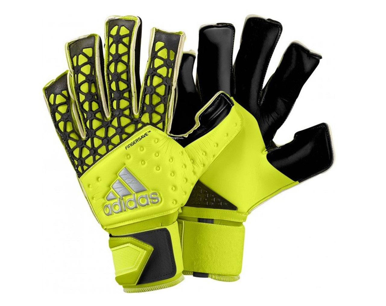 157b4b99 adidas Ace Zones Allround Fingersave Gloves - Solar Yellow/Black