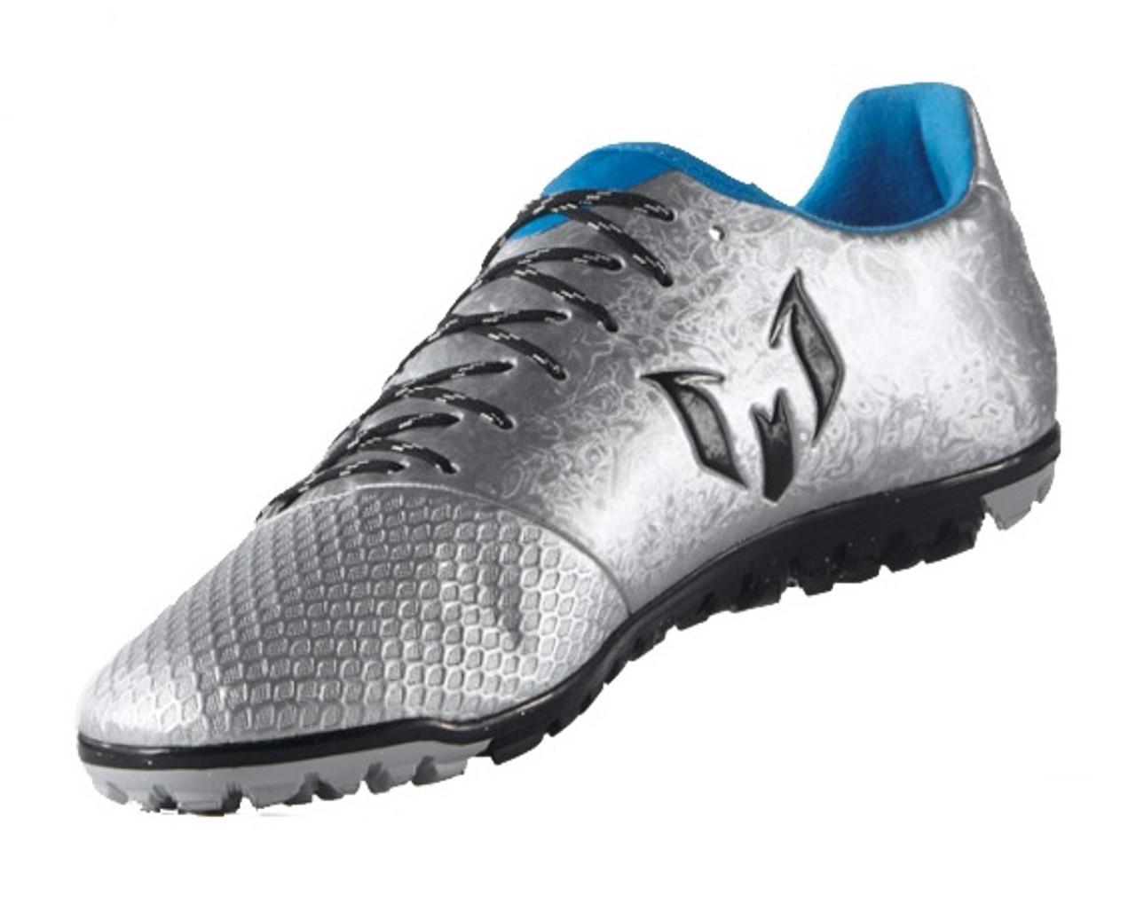 adidas Messi 16.3 TF - Silver Black Blue - ohp soccer 5668c6390